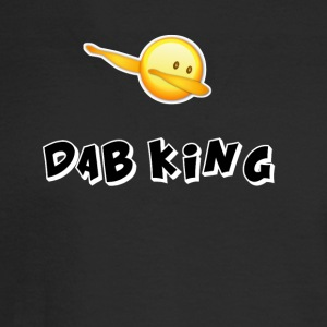 dab emojiiking dabbing football touchdown mooving - Men's Long Sleeve T-Shirt