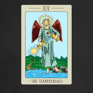 The Temperance Tarot Card Tee Shirt - Men's Long Sleeve T-Shirt