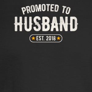 Promoted To Husband 2018 - Men's Long Sleeve T-Shirt
