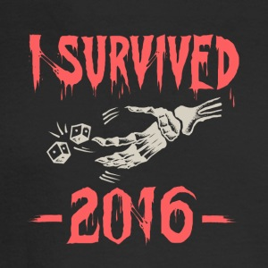 I survived 2016 - Men's Long Sleeve T-Shirt