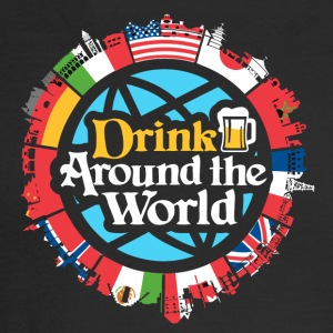 drink around the world - Men's Long Sleeve T-Shirt