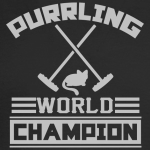 Purrling World Champion - Men's Long Sleeve T-Shirt