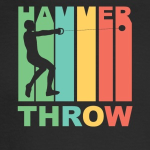 Vintage Hammer Throw Graphic - Men's Long Sleeve T-Shirt