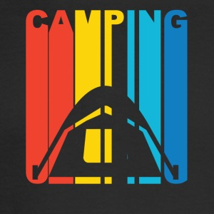 Vintage Camping Graphic - Men's Long Sleeve T-Shirt