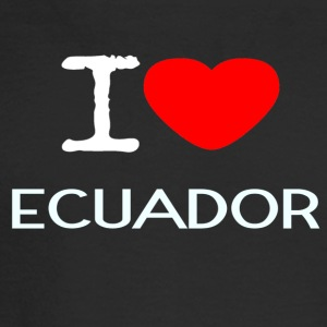 I LOVE ECUADOR - Men's Long Sleeve T-Shirt