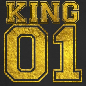 King_01_gold_1 - Men's Long Sleeve T-Shirt