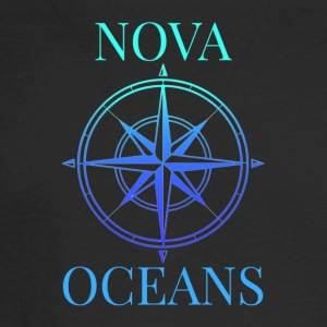 logo_nova_oceans - Men's Long Sleeve T-Shirt
