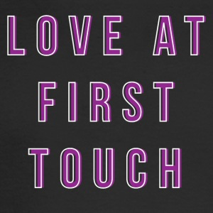 LOVE AT FIRST TOUCH - Men's Long Sleeve T-Shirt