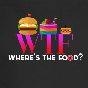 Where's the food? - Men's Long Sleeve T-Shirt