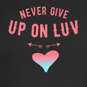 Never give up o luv - Men's Long Sleeve T-Shirt