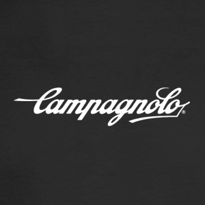 CAMPAGNOLO SCRIPT LOGO white - Men's Long Sleeve T-Shirt