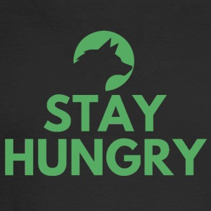 Stay hungry Project Wolfpack - Men's Long Sleeve T-Shirt