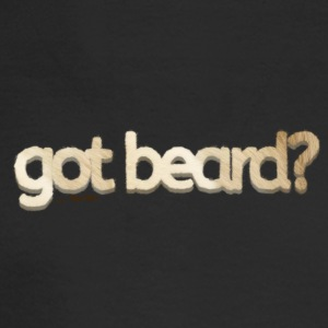 got beard?-Furry Fun-Bear Pride-Polar Bear - Men's Long Sleeve T-Shirt