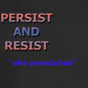 persisted - Men's Long Sleeve T-Shirt