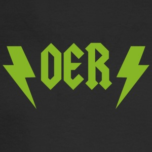 OER Rocks (Green) - Men's Long Sleeve T-Shirt