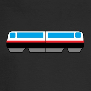 Sky Train Picture - Men's Long Sleeve T-Shirt