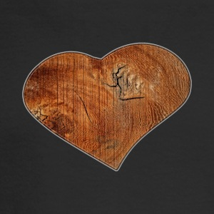 Wood_Heart_Isle | by Isles of Shirts - Men's Long Sleeve T-Shirt