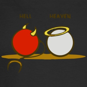 Heaven and Hell - Men's Long Sleeve T-Shirt
