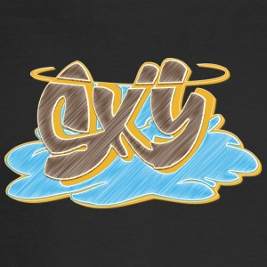 sky_graffiti_blue_ - Men's Long Sleeve T-Shirt