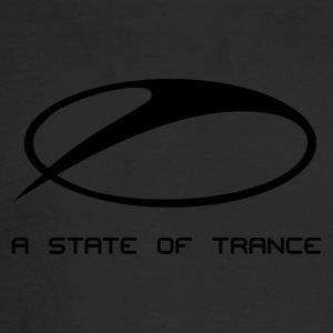 A State of Trance Logo black - Men's Long Sleeve T-Shirt