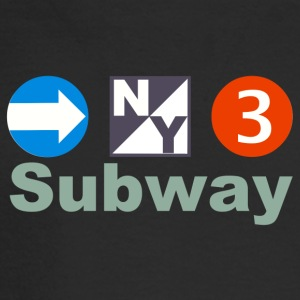 New York Subway - Men's Long Sleeve T-Shirt
