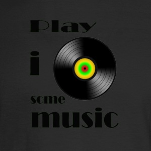 play i some music - Men's Long Sleeve T-Shirt