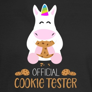 Cookie Tester - Unicorn - Men's Long Sleeve T-Shirt