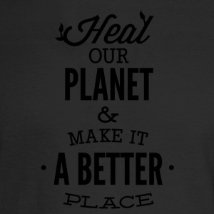 HEAL_OUR_PLANET-01 - Men's Long Sleeve T-Shirt
