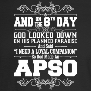 And On The 8th Day God Look Down So God Made An Ap - Men's Long Sleeve T-Shirt