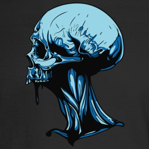 skull_with_neck - Men's Long Sleeve T-Shirt