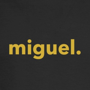 Miguel Shirt Military Gold - Men's Long Sleeve T-Shirt