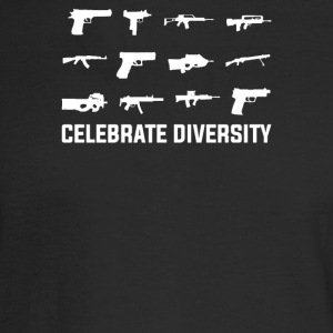 Celebrate Diversity Funny - Men's Long Sleeve T-Shirt