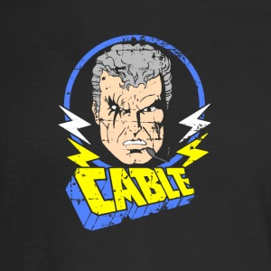Cable • X-Men Cartoon - Men's Long Sleeve T-Shirt