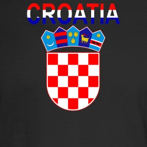 Croatia Coat Of Arms - Men's Long Sleeve T-Shirt