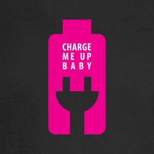 Charge Me Up Baby - Men's Long Sleeve T-Shirt