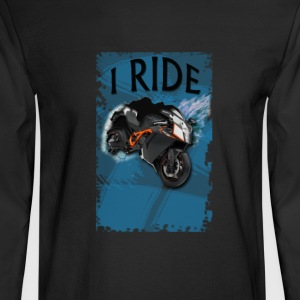 I ride design - Men's Long Sleeve T-Shirt