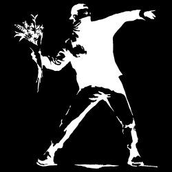 Molotov Cocktail Art (Banksy)