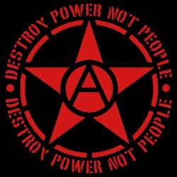 Destroy power not people