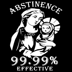 Abstinence 99.9% effective