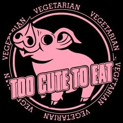 Vegetarian - too cute to eat