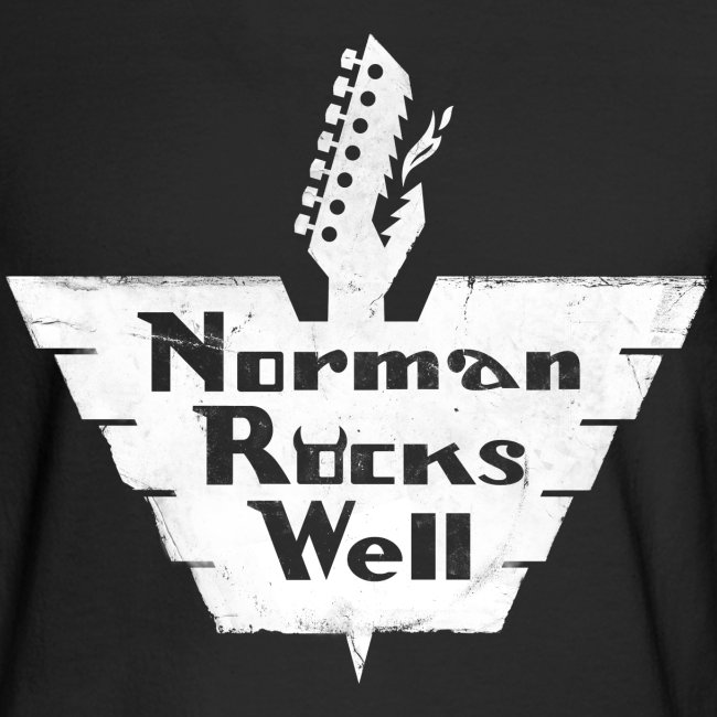 Norman Rocks Well - distressed - in white