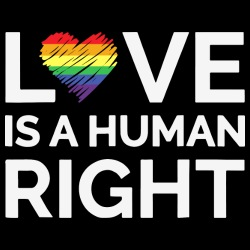 Love is a human right