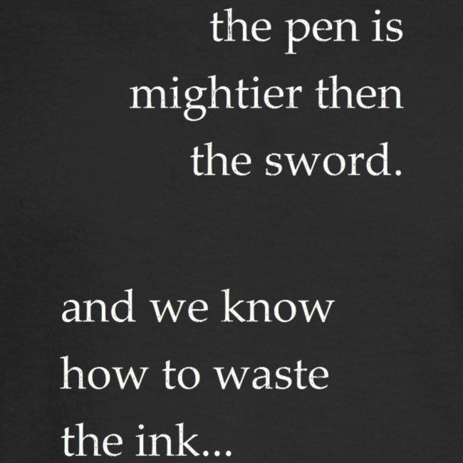 invert the pen is mightier(invert)