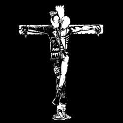 Crucified punk & skin