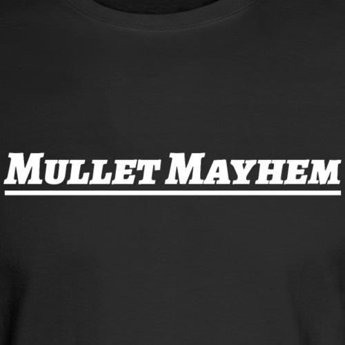 mullet hard - Men's Long Sleeve T-Shirt