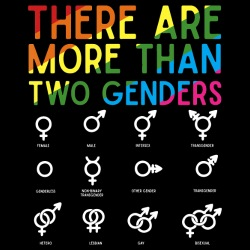 There are more than two genders