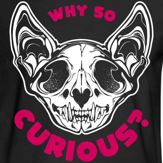 why so curious cat skull