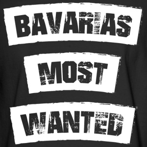 Bavarias most Wanted! Funny! - Men's Long Sleeve T-Shirt