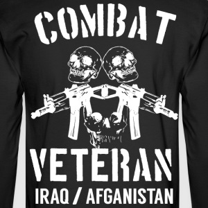 Combat Veteran - Men's Long Sleeve T-Shirt