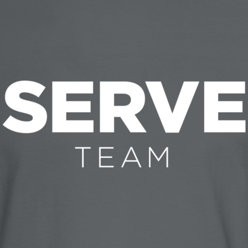 Serve Team T-Shirt - Men's Long Sleeve T-Shirt